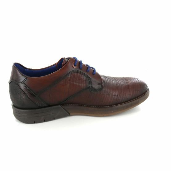 Braend chaussures à lacets cognac