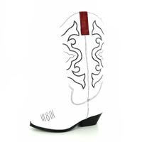Tango laarzen wit